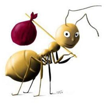 Comedienne Voix Film cartoon sur les fourmis 3 voix